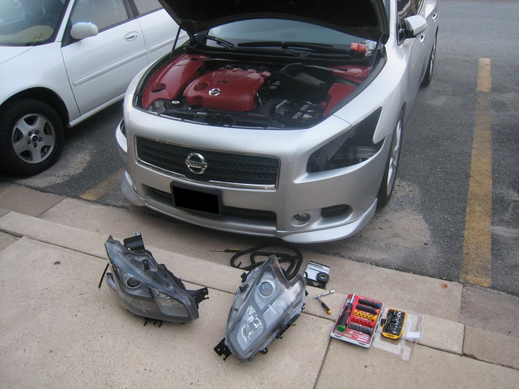 7th Gen Nissan Maxima – How To Bake And Open The ...