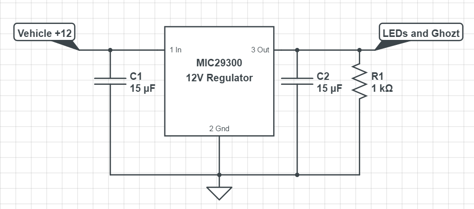 DIY +12V Regulator Circuit